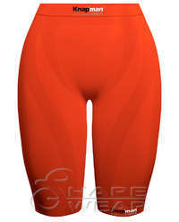 Zoned Compression Short Ladies orange