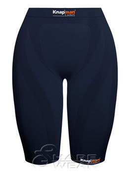 Zoned Compression Short Ladies navy blue