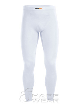 Zoned Compression Tights 45% weiß